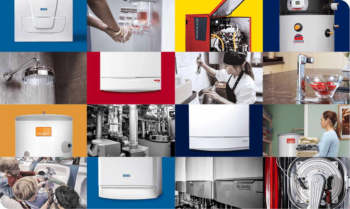 Baxi Heating homepage banner