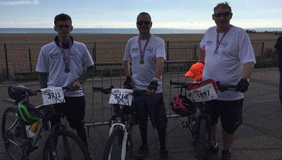 Wokingham-Cycle-Ride raising funds for charity